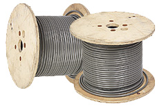 Silver Electric Cable